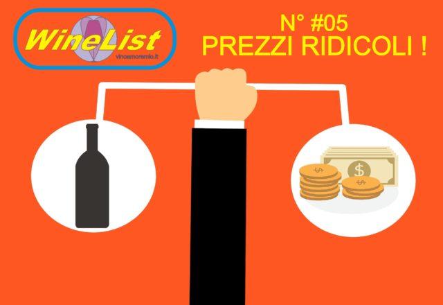 Anteprima WineList #05 – Prezzi Ridicoli ! Eccetto Produttori del Barbaresco – Barbaresco 2010 Produttori del Barbaresco
