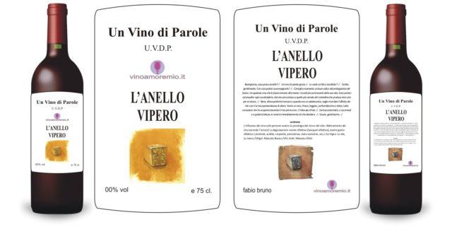 Un vino di parole – L'ANELLO VIPERO –
